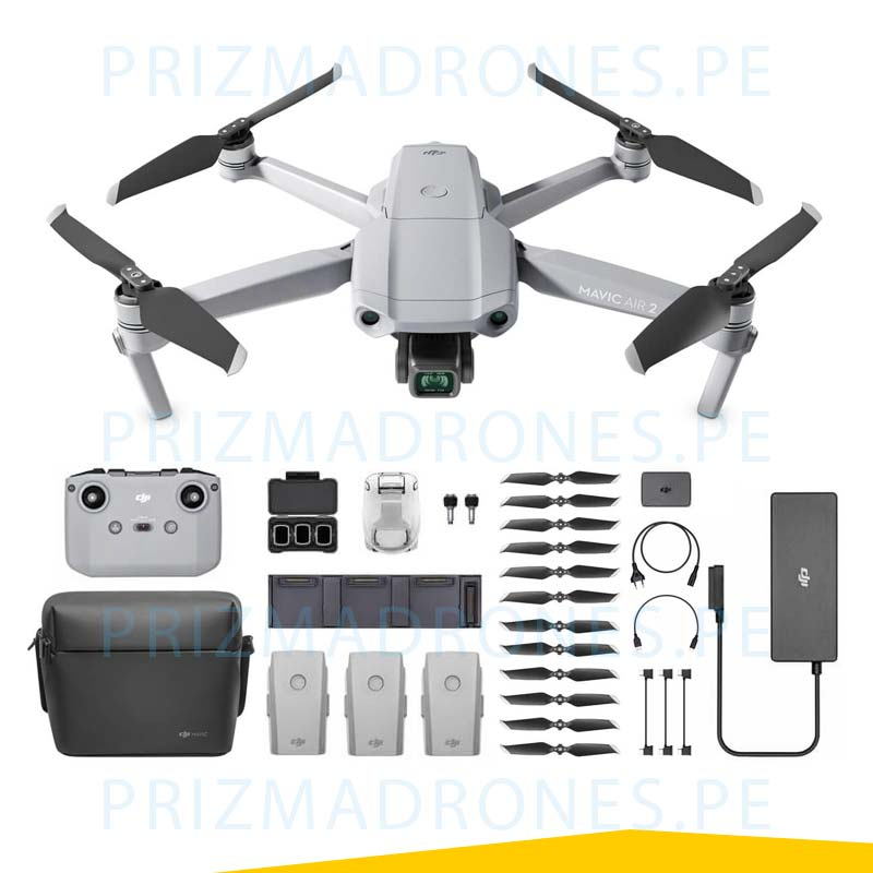 Mavic Air 2 – Fly More Combo