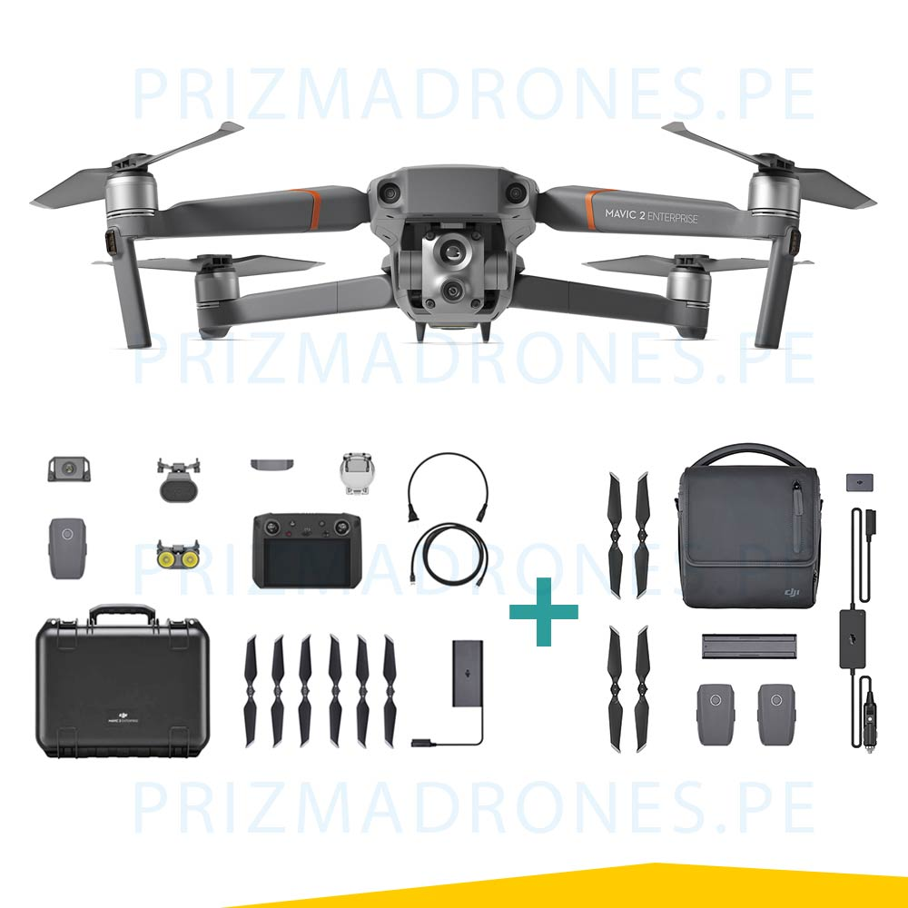 Mavic 2 Enterprise – Advanced + Fly More Kit Enterprise