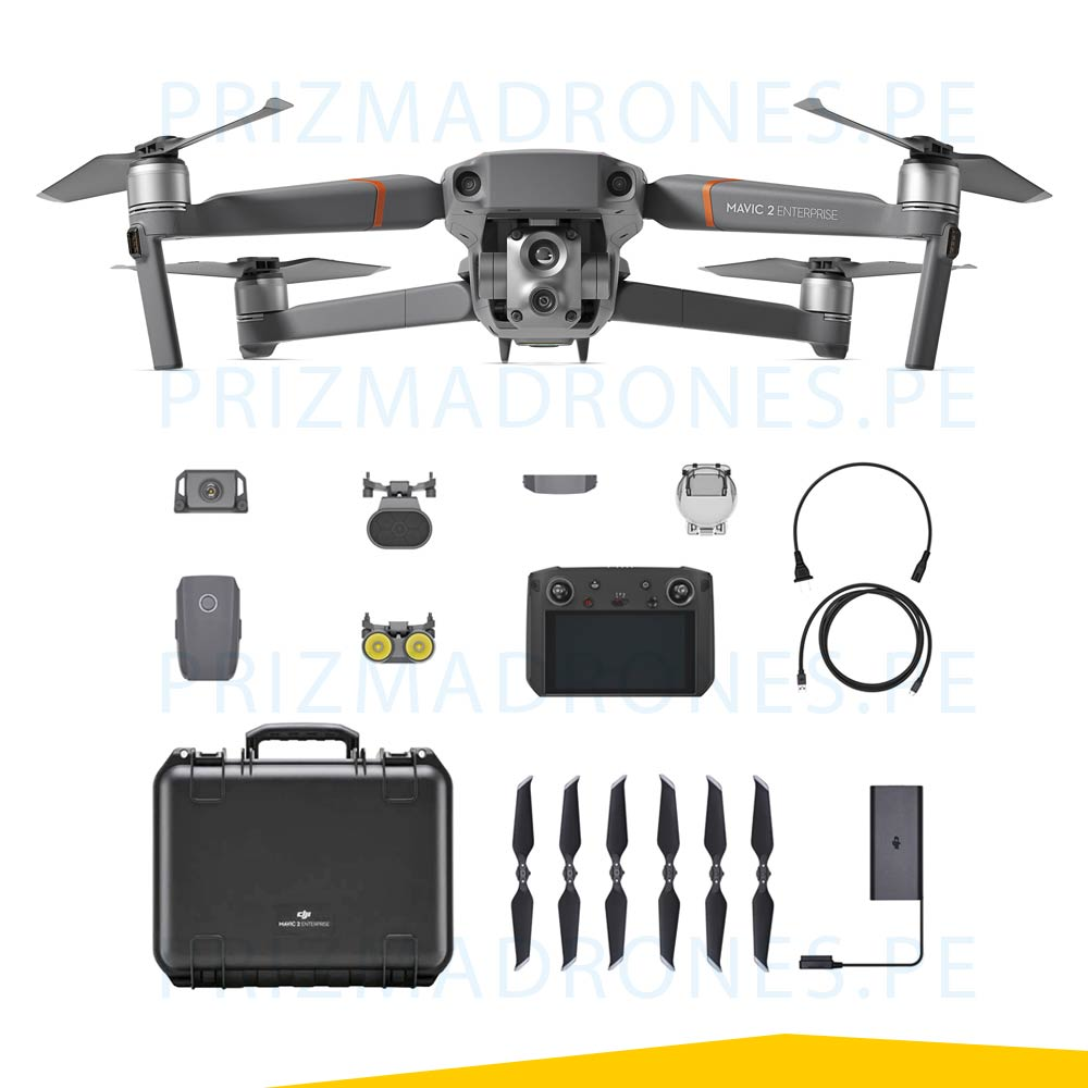 Mavic 2 Enterprise – Advanced (Cámara Térmica + Visual)